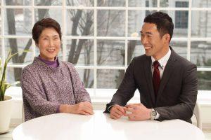 山口さんのお母さま。「こちらの貴婦人は?」と訊いて、いい意味で驚きました。