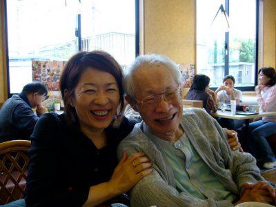 夏野さんとお父さん