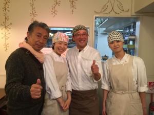 お客様の1人であるどんぐりの木オーナーの佐藤さんご夫妻。